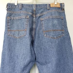 Tommy Hilfiger Jeans - Tommy Hillfiger Men's Relaxed Fit Blue Jeans 38x32